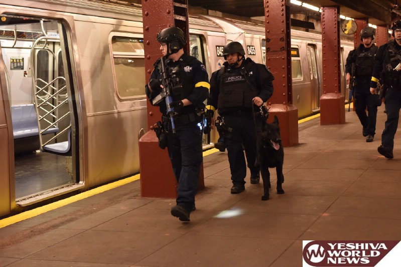 PHOTOS: NYPD Conduct Active Shooter Emergency Drill in Lower Manhattan