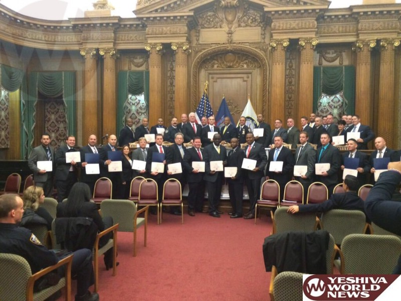 Brooklyn Boro President Honors Over 40 Exemplary NYPD Detectives At Awards Ceremony