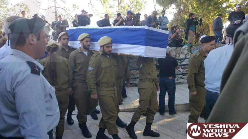 Photos: Levaya of IDF Soldier Ziv Mizrachi HYD