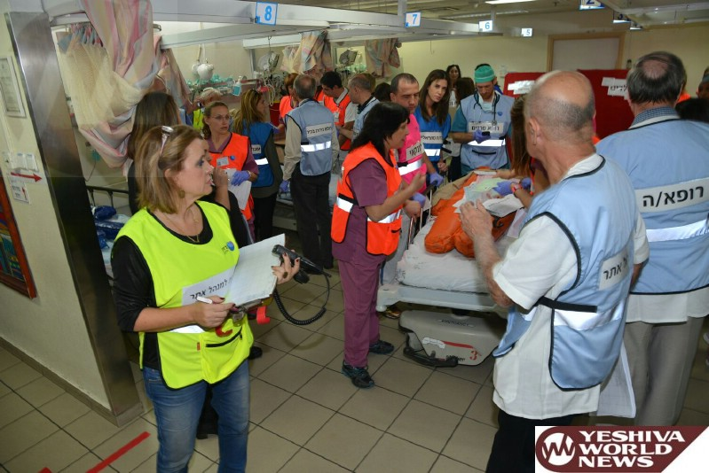 PHOTOS: Barzilai Hospital Preparedness Training Event Held on Tuesday