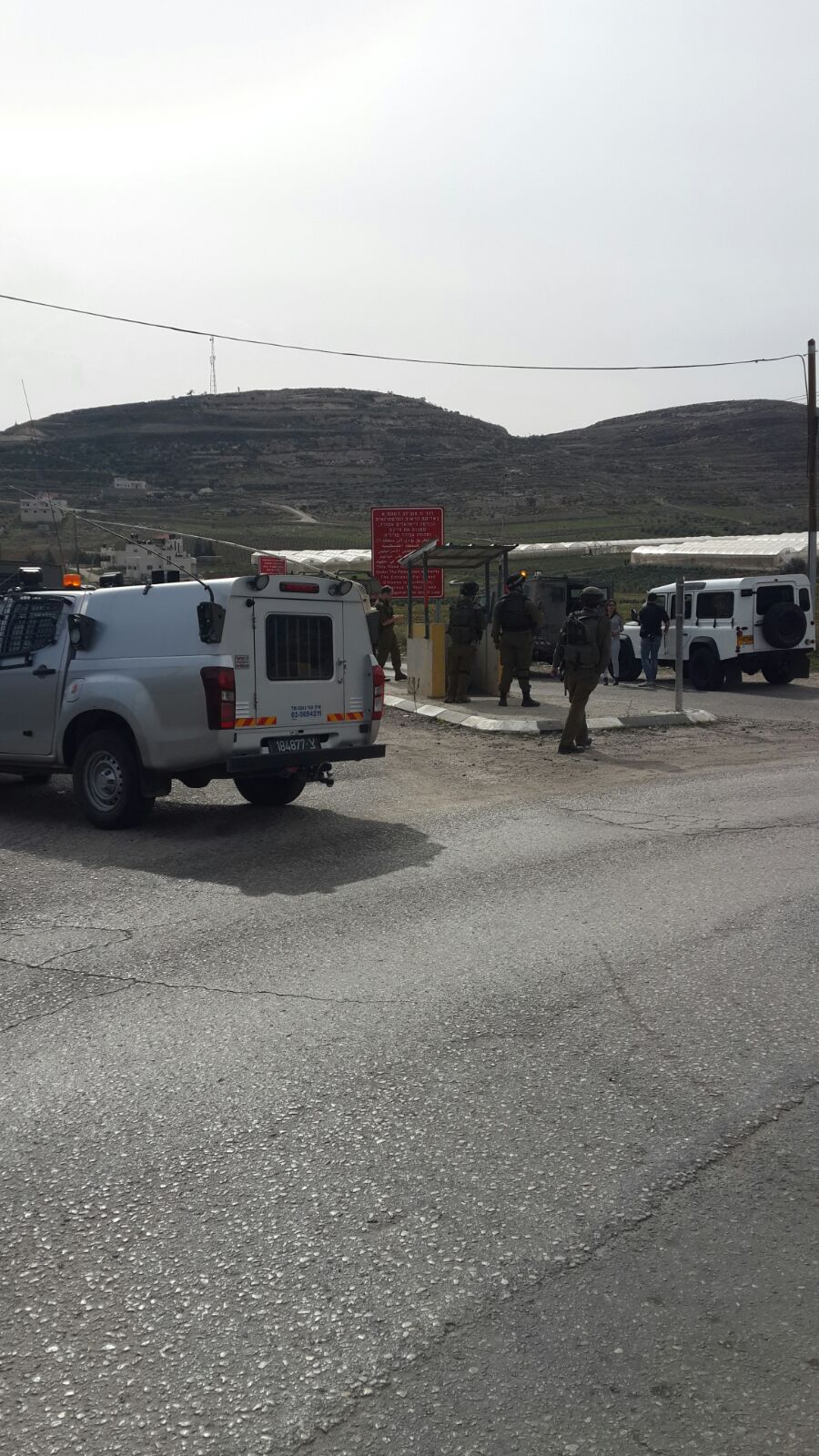 Stabbing Attack between Otniel & Beit Chaggai  [UPDATED 12:19PM IL]