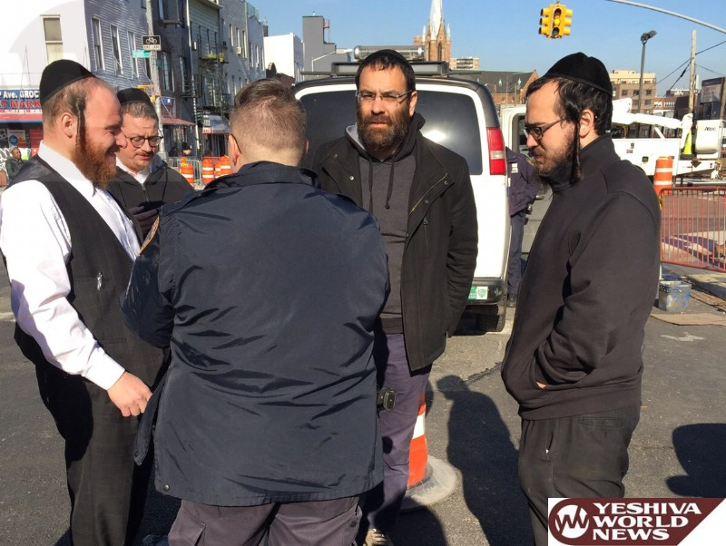 PHOTOS: Williamsburg Shomrim Assist In Getting Stolen Vehicle Back To Owner; 4 Suspects Arrested