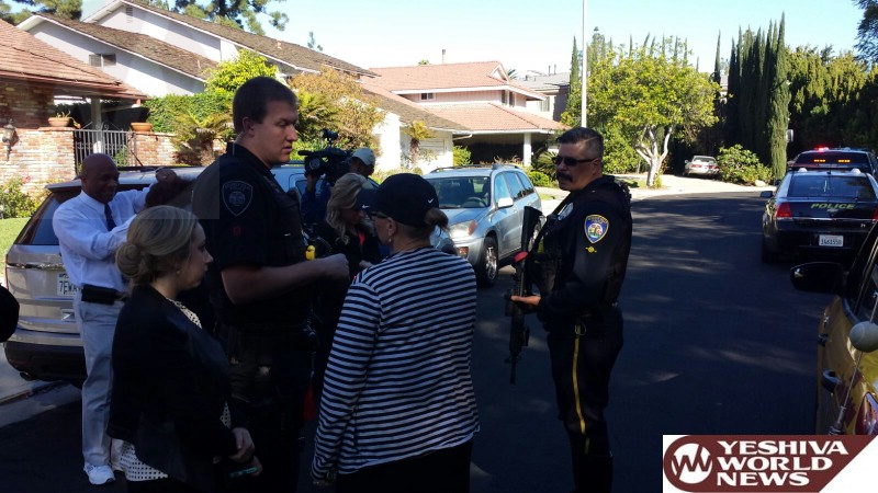 All Clear Given In Jewish Community After Pursuit Ends With Suspected Burglars Hiding In Pico Area Of Los Angeles [UPDATED 2:10PM ET]