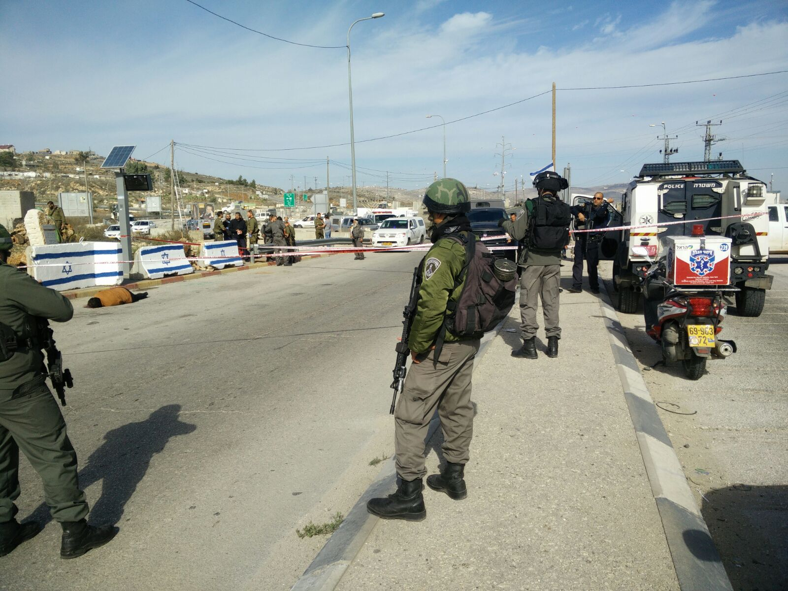 Attempted Stabbing Attack at Tapuach Junction in the Shomron [UPDATED 11:53AM IL]