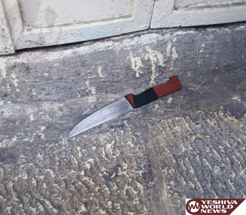 VIDEOS AND PHOTOS: Stabbing Attack at Shar Shechem  [UPDATED 11:11AM IL]