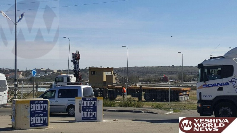Increased Security Announced for the Gush Etzion Junction and Surrounding Area