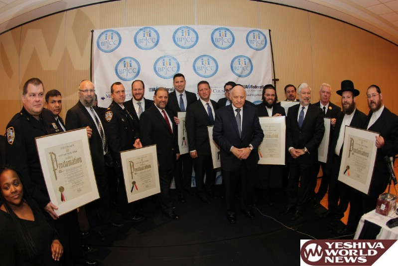 PHOTOS: Boro Park JCC Breakfast Focuses on Terrorist Threat and Hails First Responders