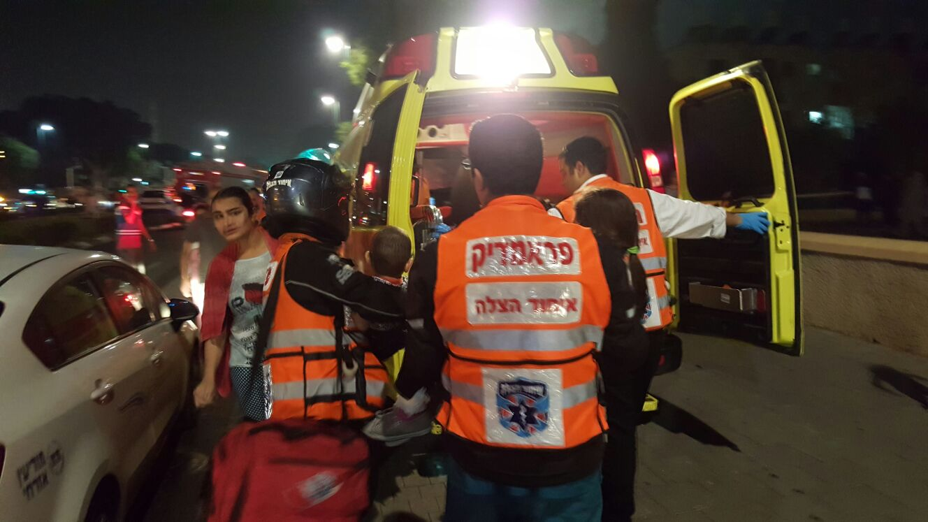 As the Palestinian Terror Rampage Continues  - Please Help United Hatzalah Respond and Save Lives
