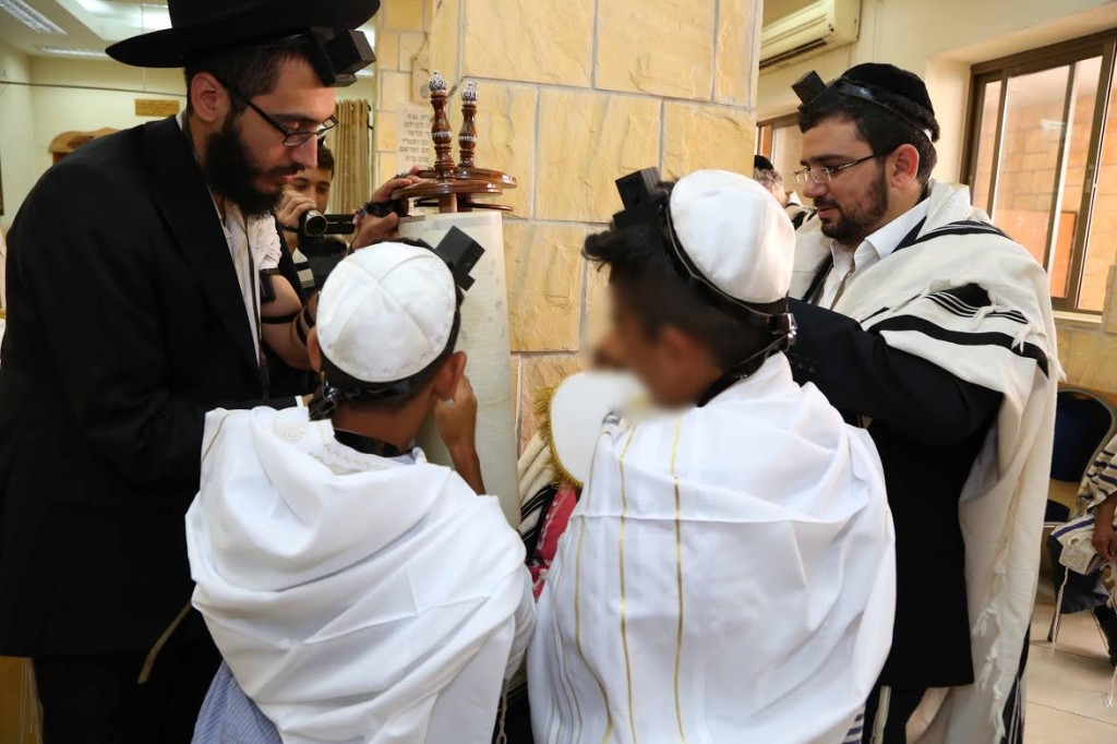 Twin Sons of Mixed Jewish-Arab Marriage Celebrate Their Bar Mitzvah