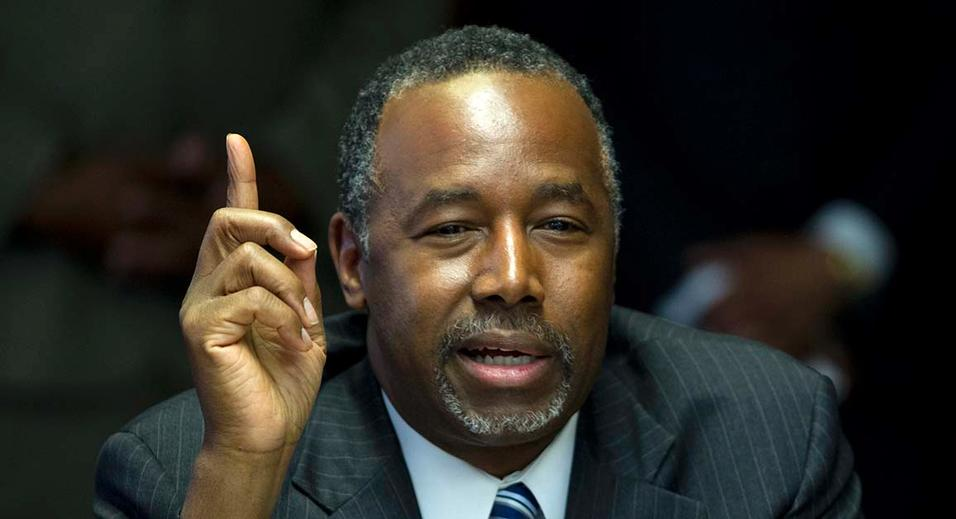 Carson Says He's 'Very Disappointed' With Ryan's Stance