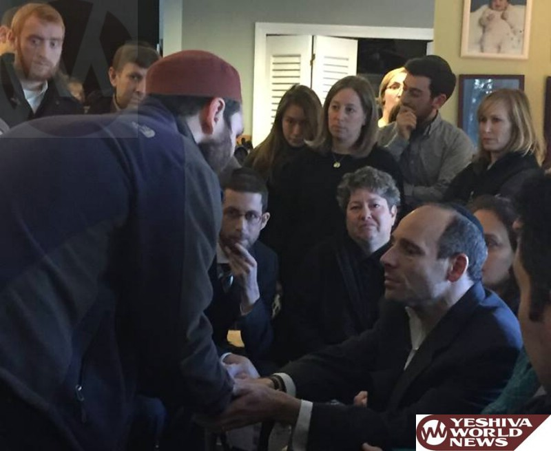 Muslim Leader in Sharon, Mass. pays Shiva Visit to Family of Ezra Schwartz