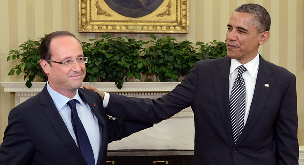 Obama, Hollande Whitehouse Talks Complicated by Russian Plane Incident