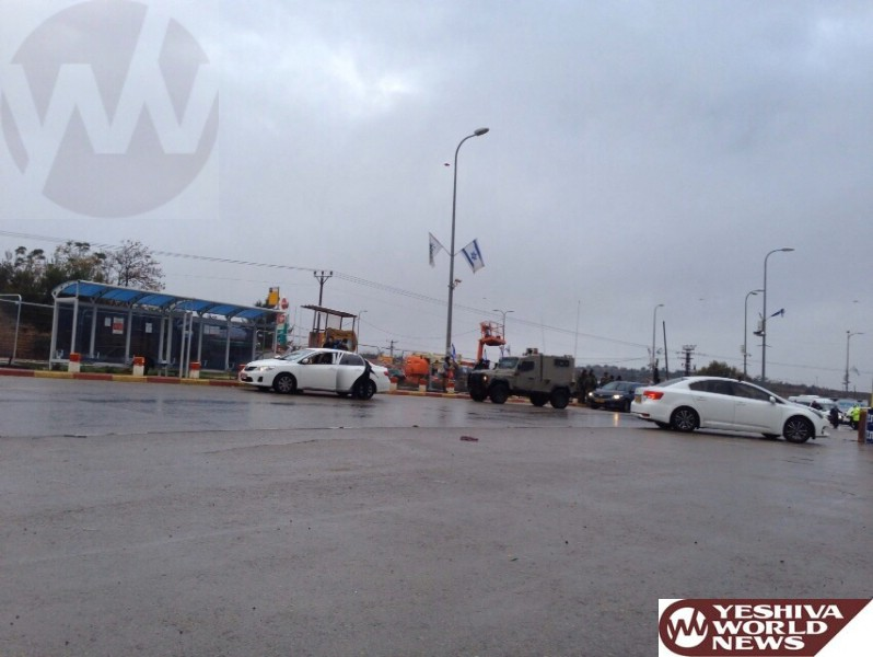 Stabbing Attack at Gush Etzion Junction [UPDATED 8:21AM IL]