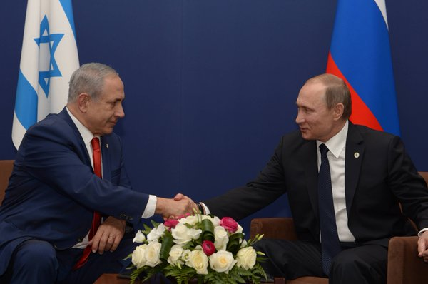 PM Netanyahu Meets with Russian President Vladimir Putin
