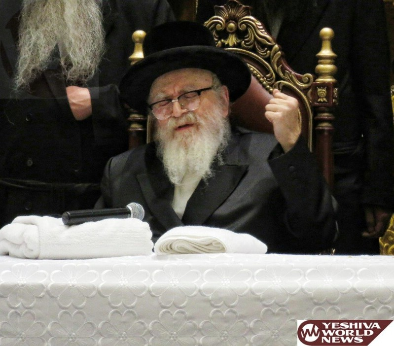 For The First Time, The Skverer Rebbe Will Light A Bonfire On Lag B'Omer In New Skvere