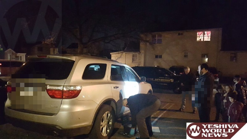 VIDEO: 18 Vehicles Broken Into Over Shabbos In Monsey - Suspects Captured On Video