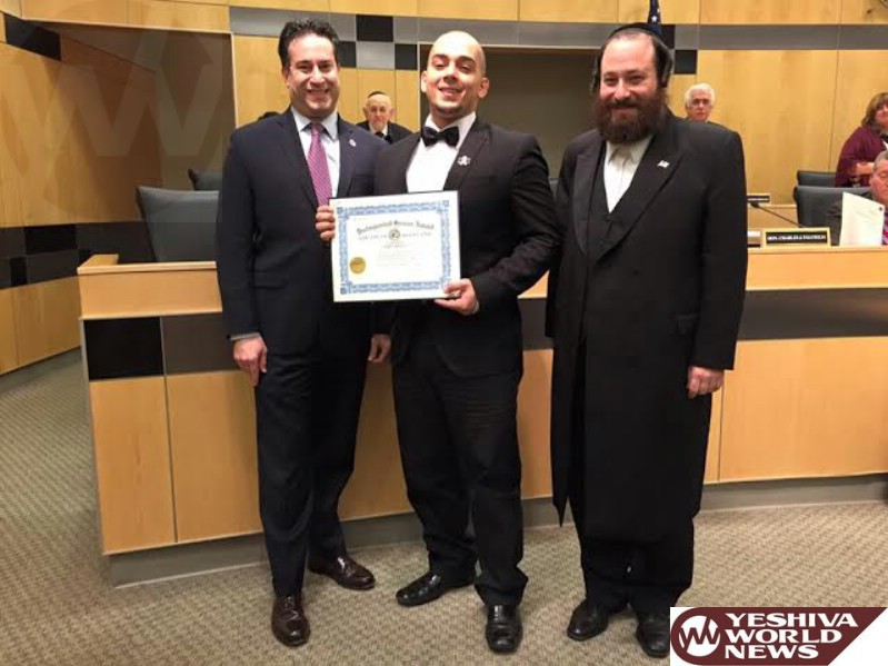 VIDEO: Rockland County Legislator Aron B. Wieder Honors Man Who Gave Shirt To Homeless Man