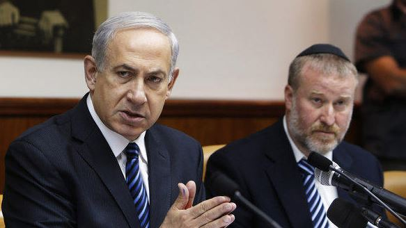 PM Netanyahu Confers with the Attorney General Regarding MKs Who Meet with Families of Terrorists