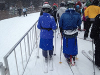 skiing with skirts
