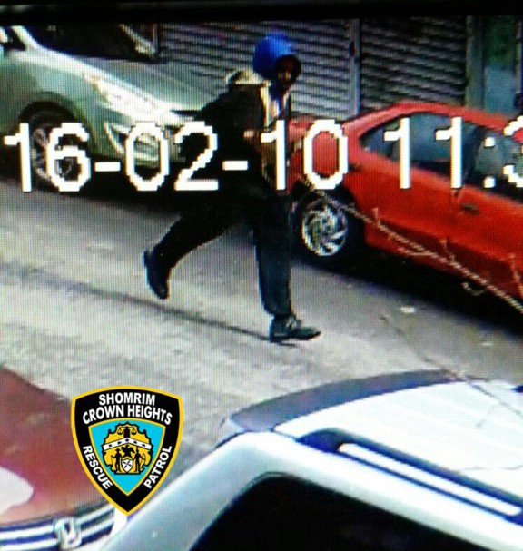 PHOTOS: Suspect Wanted In Crown Heights Stabbing; Call 911 And Shomrim If Seen