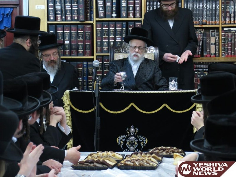 Photo Essay: Seret Vishnitz Rebbe On Recent Visit To London (Photos By Avi Yodaiken)