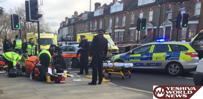VIDEO AND PHOTOS: London Police Chase Ends In Crash With Fatality In Stamford Hill