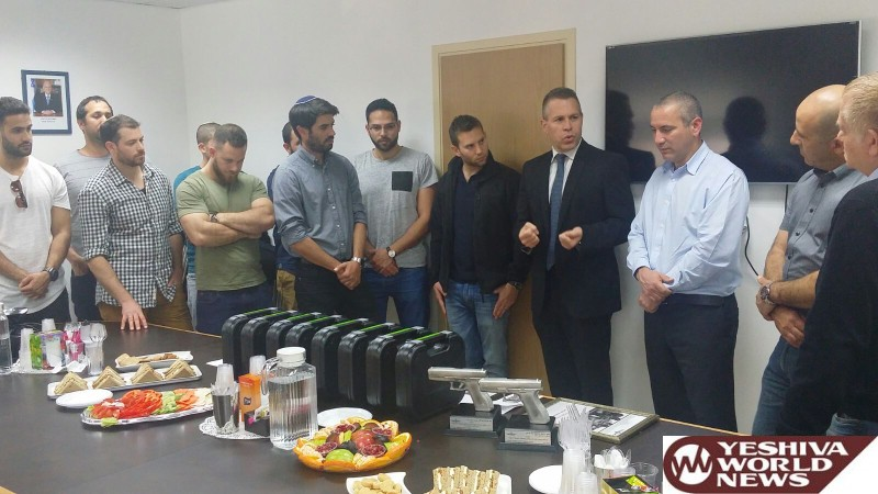 Former Duvdevan Soldiers Receive Handgun Permits in Part of Nationwide Effort to Place Pistols in the Correct Hands