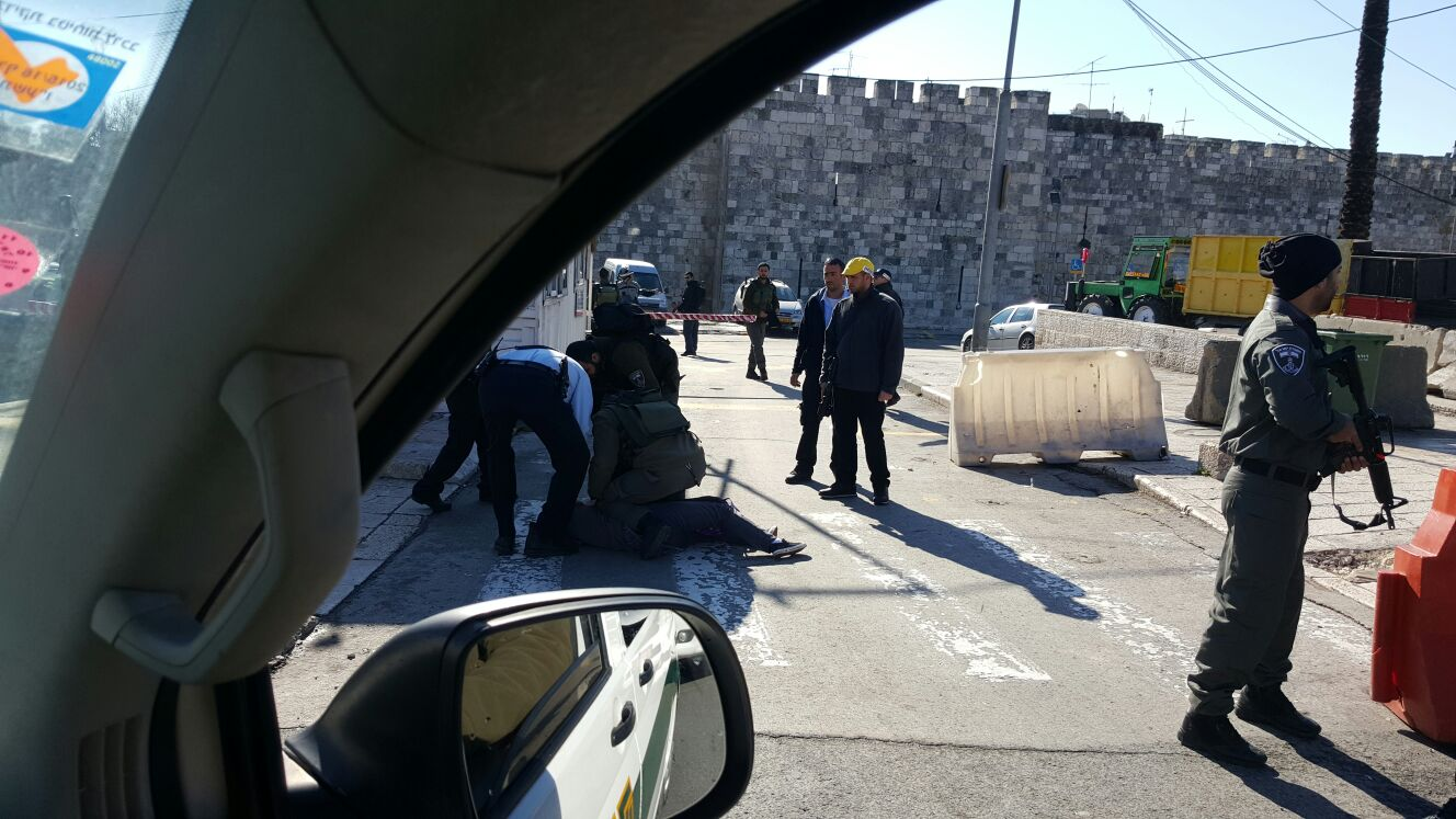 Palestinian Terror: Attempted Stabbing Attack at Shar Shechem
