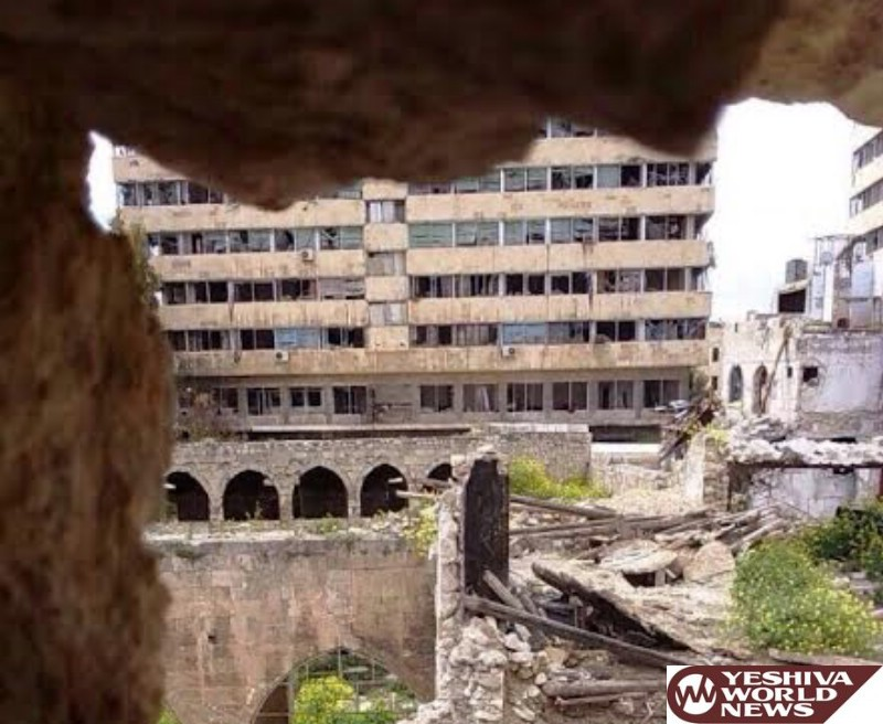 Ancient Shul in Aleppo in Danger of Destruction