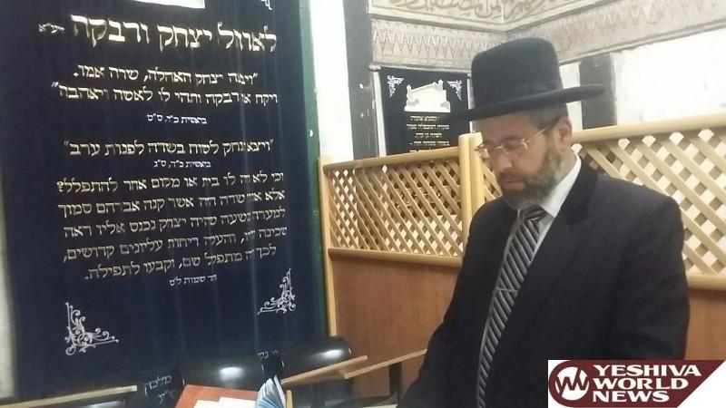 Photo Essay: Chief Rabbi of Israel Rabbi Dovid Lau Shlita Visits Meoras HaMachpelah