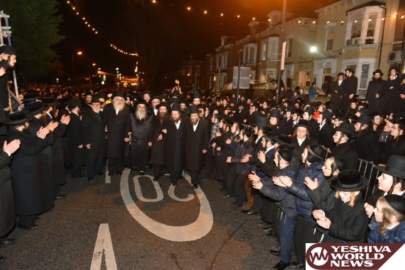 Photo Essay: Kabolas Ponim In London For The Satmar Rebbe Of Williamsburg (Photos By JDN)