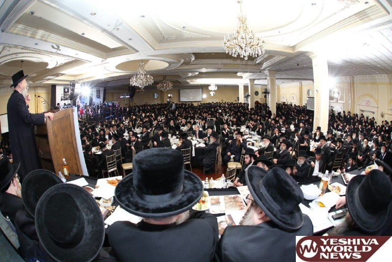 Photo Essay: Dinner for The Bonai Olam Organization in Williamsburg (Photos By Heshy Rubinstein - Dee Voch / JDN)