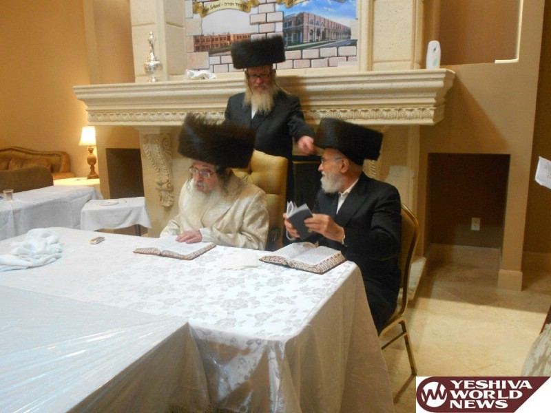 Photo Essay: The Tosher Rebbe in Fort Lauderdale, Florida for Vacation (Photos By JDN)