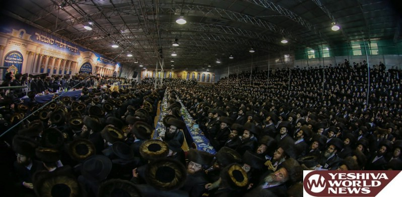 Photo Essay: Satmar Rebbe Of Williamsburg On Visit To London (Photos By JDN)