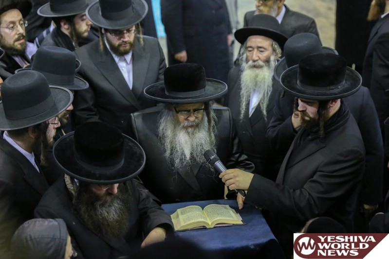 Photo Essay: The Satmar Rebbe Of Williamsburg On His Visit To London (Photos By JDN)