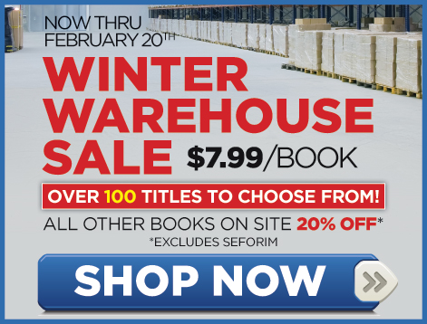 Israel Book Shop's Online Winter Warehouse Sale Gets Underway