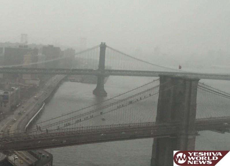 Unannounced NYPD Drill On Brooklyn Bridge Has Social Media Buzzing With Photos