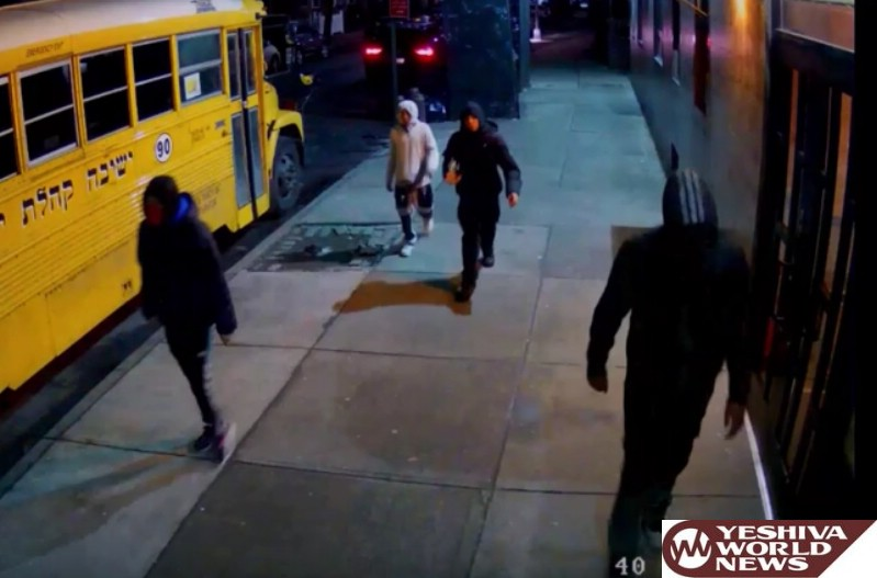 VIDEO: NYPD Releases Footage Of 4 Men Who Robbed Boro Park Man After Placing Him In Chokehold And Kicking His Face