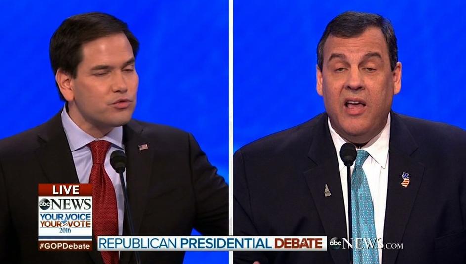 VIDEO: Christie Feel 'Justified' With His Takedown Of Rubio In Debate