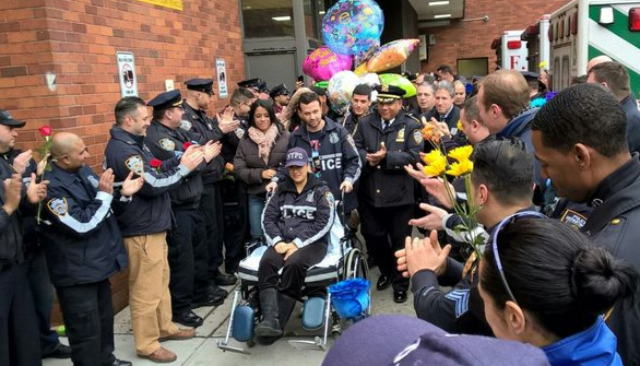 NYPD Office Shot Last Week Is Released From Hospital