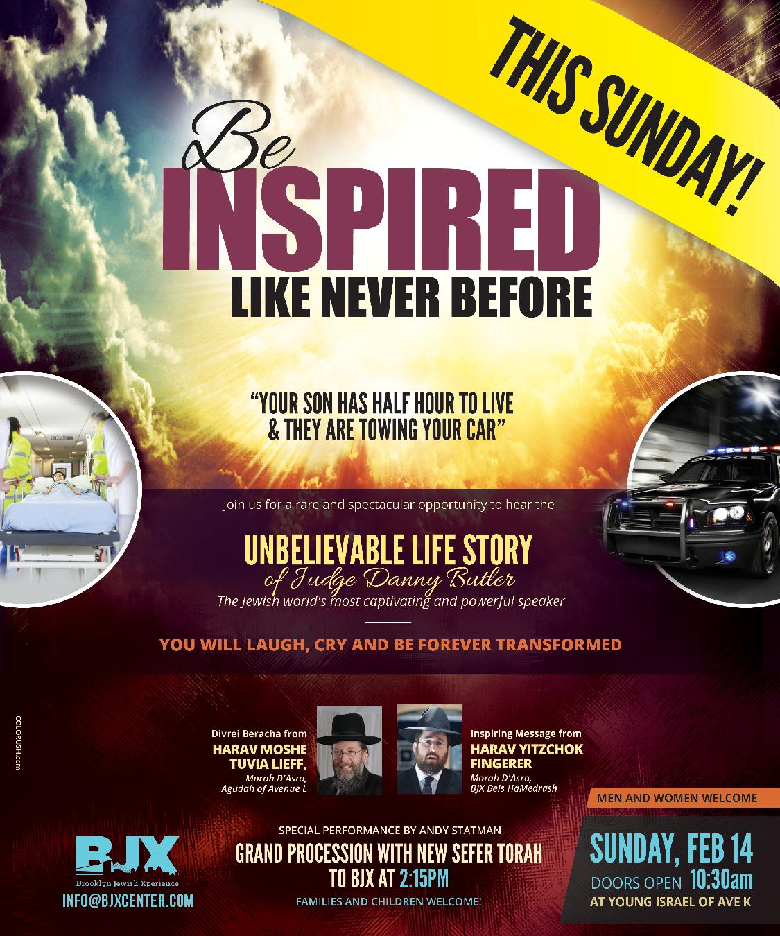 Day of Inspiration: This Sunday! Doors Open 10:30am