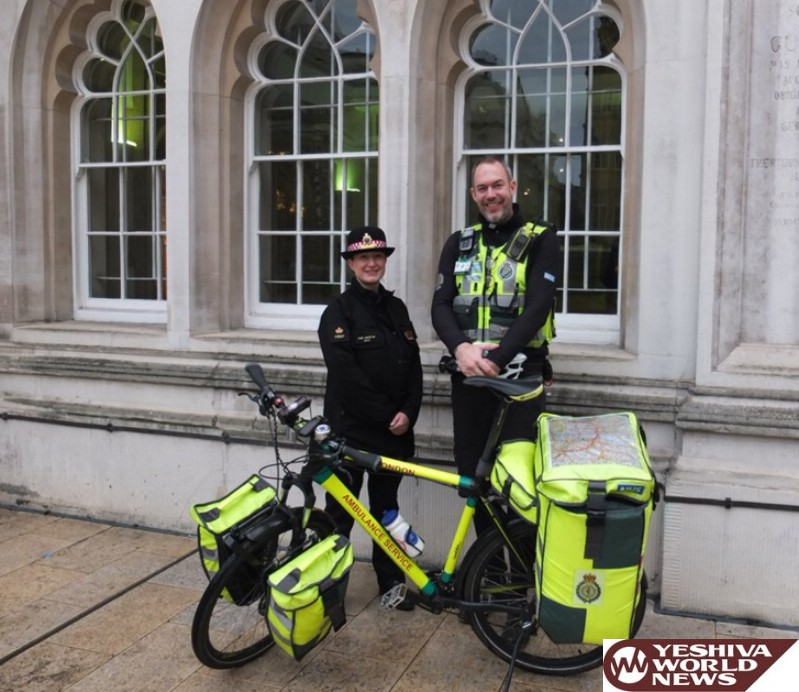 London Now Has Paramedics Riding Bicycles To Get To Emergencies Faster