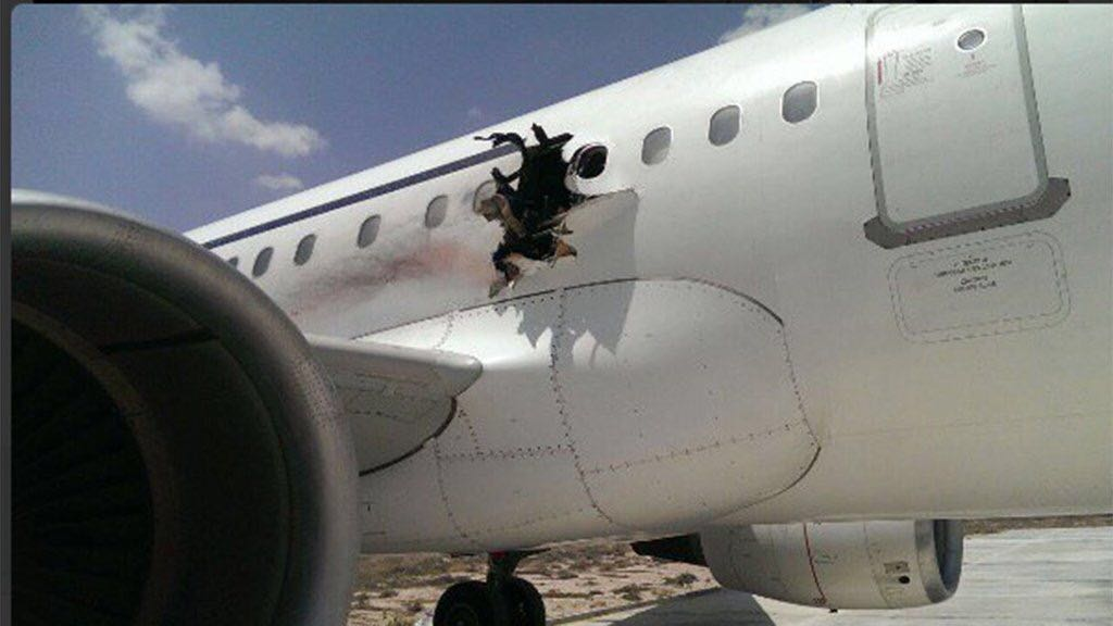 Airline CEO: Explosive Residue Found in Somalia Airplane Incident