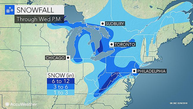 NYC Area: More Snow On The Way; A Few Inches In Tri-State Area