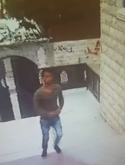 VIDEO: Rahat Terrorist Flees the Scene of the Stabbing Attack