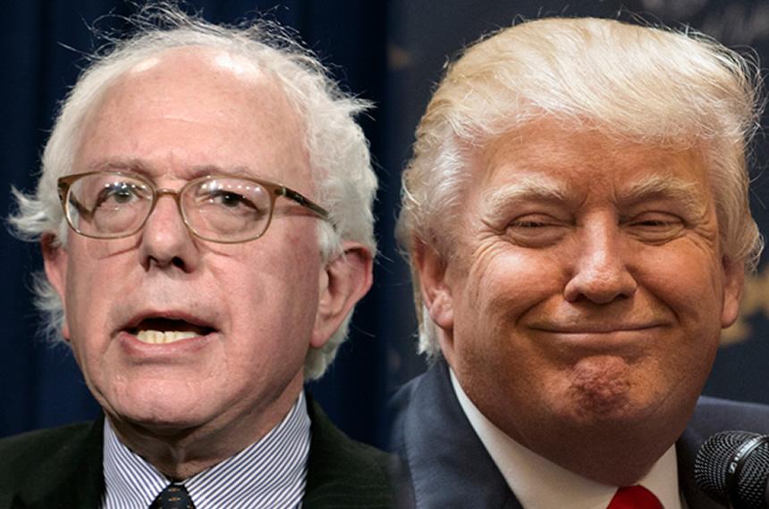 Trump, Sanders Win NH Primary
