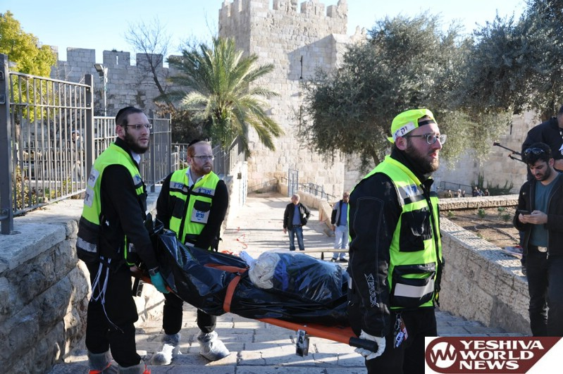 Israel Hands Over The Body Of Another Terrorist To Permit Burial