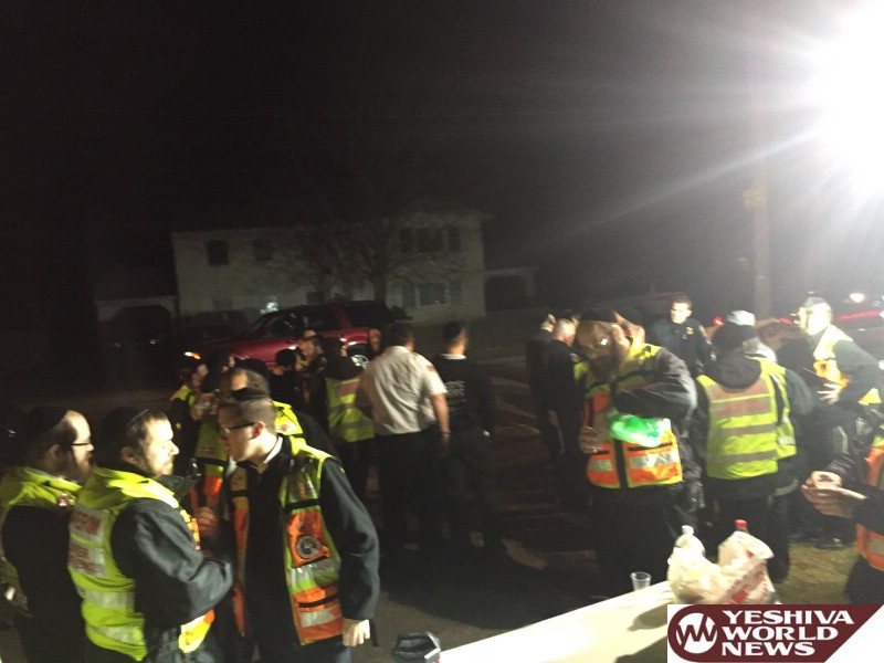 VIDEO AND PHOTOS: Kiddush Hashem In Spring Valley As Rockland Chaveirim Search For Missing Spring valley Girl