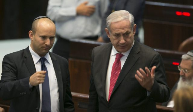 Talks Break Down Between PM Netanyahu And Naftali Bennett