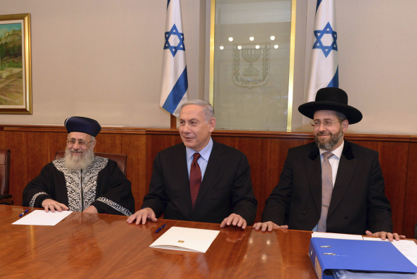 Chief Rabbis Uncertain Regarding A Request To Meet With PM Netanyahu